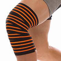 Бинты на колени (для приседаний) (1шт) PL, эластан, l-2м, w-8см,
