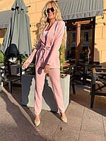 Женский классический костюм, деловой костюм, красивый костюм, фото 1