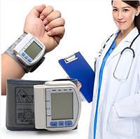 Качественный Точный цифровой Тонометр на запястье CK - 102S. Лучшая Цена!, Спорт, здоровье, туризм