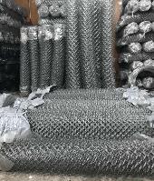 Сетка рабица оцинкованная 35х35х1,60мм (1.50мх10,0м)