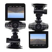 Автомобильный видеорегистратор DVR-027 HD (H-198) 1280x720 регистратор Черный, Автотовары, электроинструмент,