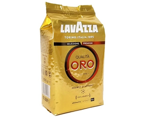 Кофе в зернах Lavazza Qualita Oro в зернах 1кг с деликатными цветочными нотками и мягкой кислинкой. Арабика