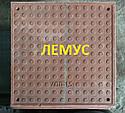 Люк квадратный полимерпесчаный  терракотовый без замка, фото 2