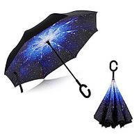 Зонт наоборот Umblerlla, раскладной., Товары для дома и сада