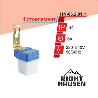 Фотоелемент RIGHT HAUSEN  6А HN-062011, фото 2
