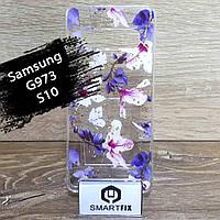 Чехол с рисунком для Samsung S10