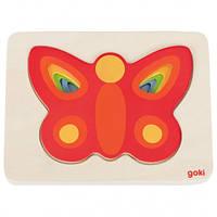 Goki Пазл-вкладыш Бабочка