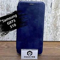 Чехол книжка для Samsung S10 / G973 Gelius Синий