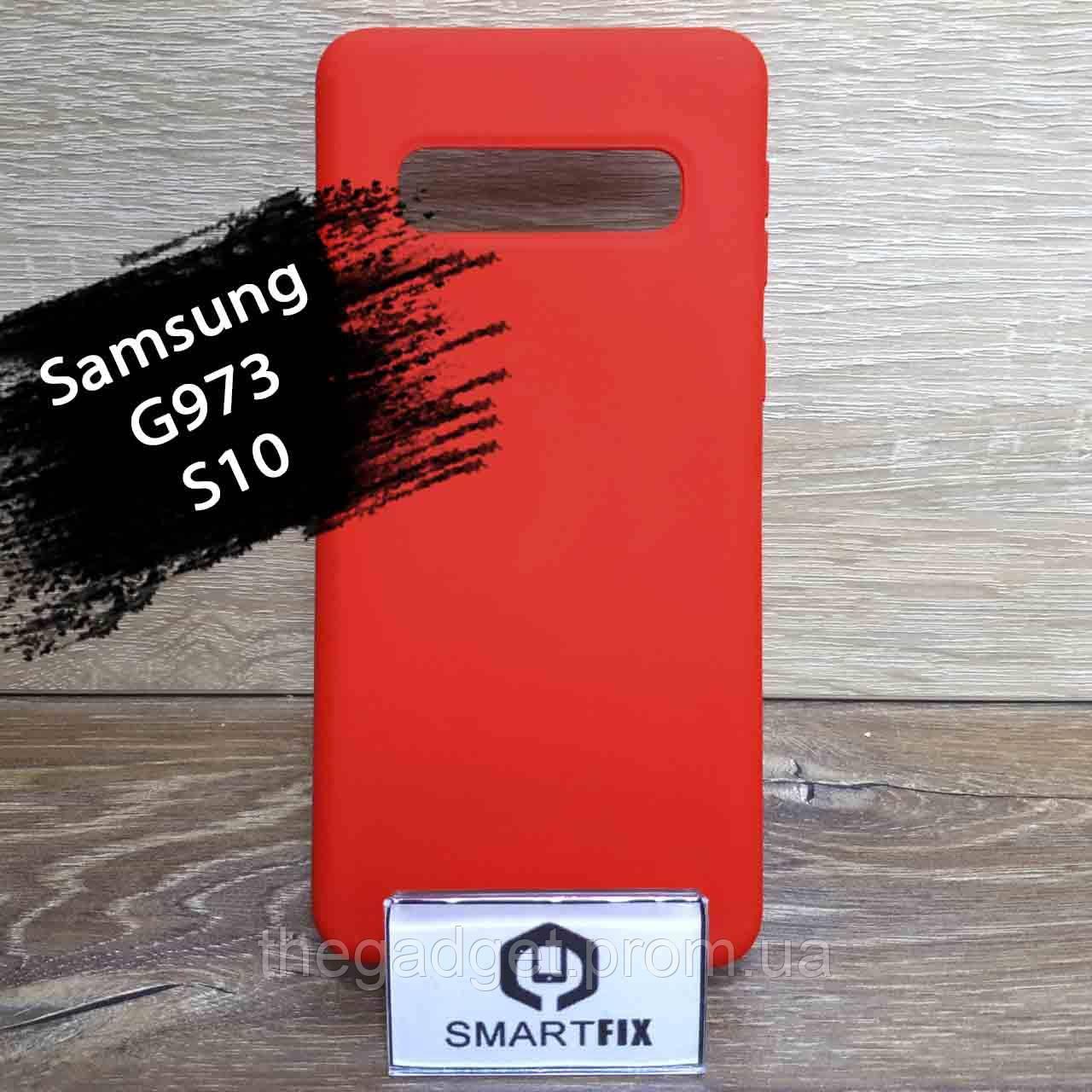 Силиконовый чехол для Samsung S10