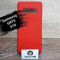 Силиконовый чехол для Samsung S10, фото 1