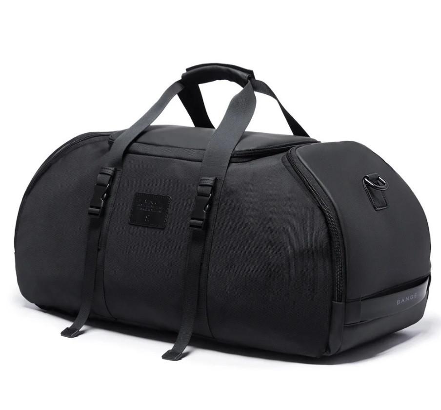 Рюкзак сумка Bange BG1922 вологозахистна  міська дорожня чорний 30 л