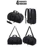 Рюкзак сумка Bange BG1922 вологозахистна  міська дорожня чорний 30 л, фото 3
