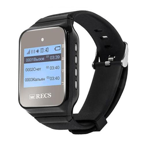 Пейджеры-часы официанта RECS R-02 Black USA