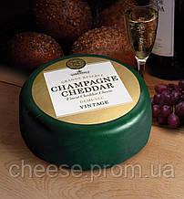 Сыр Чеддер с шампанским 45% 2 кг  Somerdale (Champagne Cheddar)