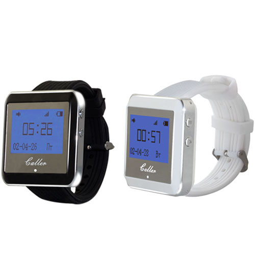 Пейджери-годинник офіціанта R-01W White Watch Caller
