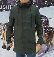 Куртка/парка длинная для мужчин TALIFECK демисезонная/еврозима