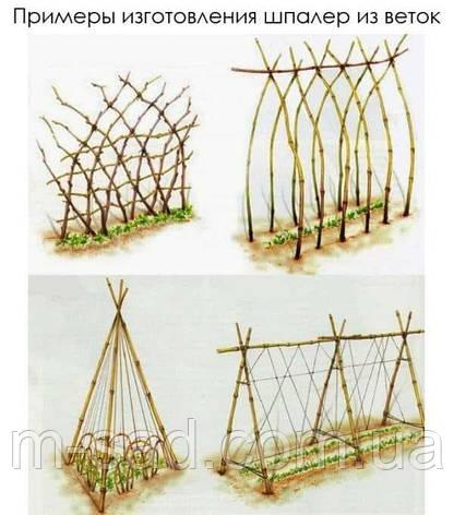 Опора для подвязки растений из композита, Ø 10 мм, высота 120 см, фото 2