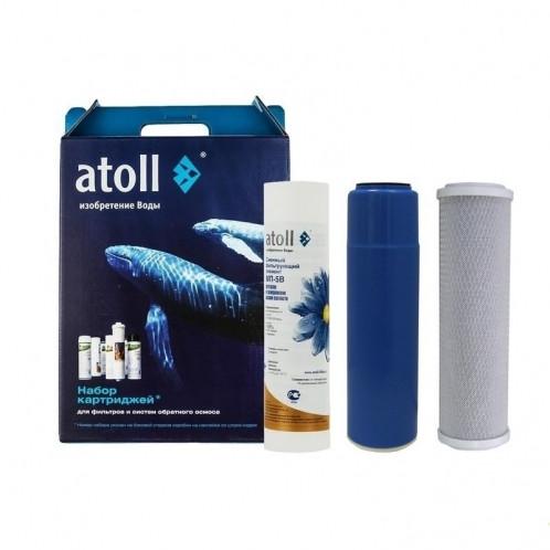 Комплект картриджей Atoll №202 Эко