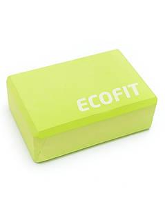 Блок для йоги Ecofit MD1219 8*15*23см