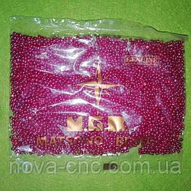 Бисер мелкий №9 красный 50 грамм Япония ТМ MGB