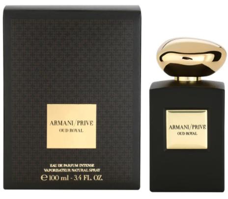 Мужская парфюмированная вода Giorgio Armani Prive Oud Royal, 100 мл