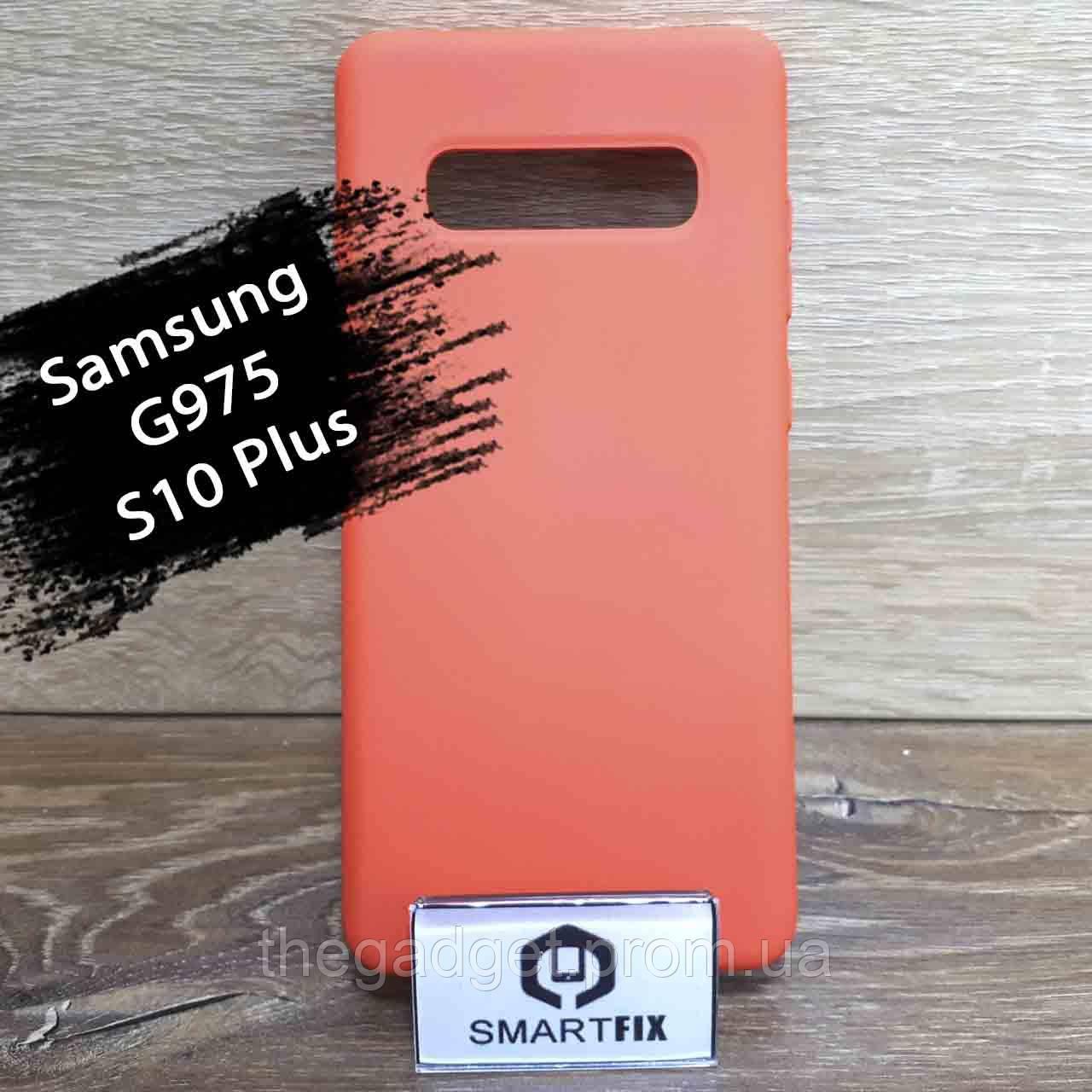 Силиконовый чехол для Samsung S10 Plus