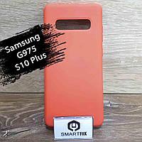 Силиконовый чехол для Samsung S10 Plus, фото 1