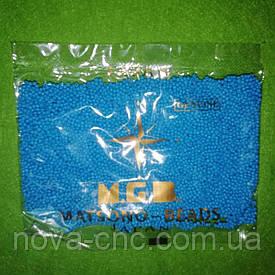 Бисер мелкий №9 голубой непрозрачный 50 грамм Япония ТМ MGB