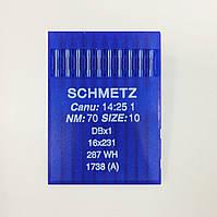 Иглы Schmetz DBx1 №70 (уп.10шт.)
