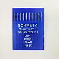 Иглы Schmetz DBx1 №75 (уп.10шт.)