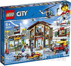 Конструктор LEGO City 60203 Гірськолижний курорт