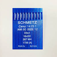 Иглы Schmetz DBx1 №80 (уп.10шт.)