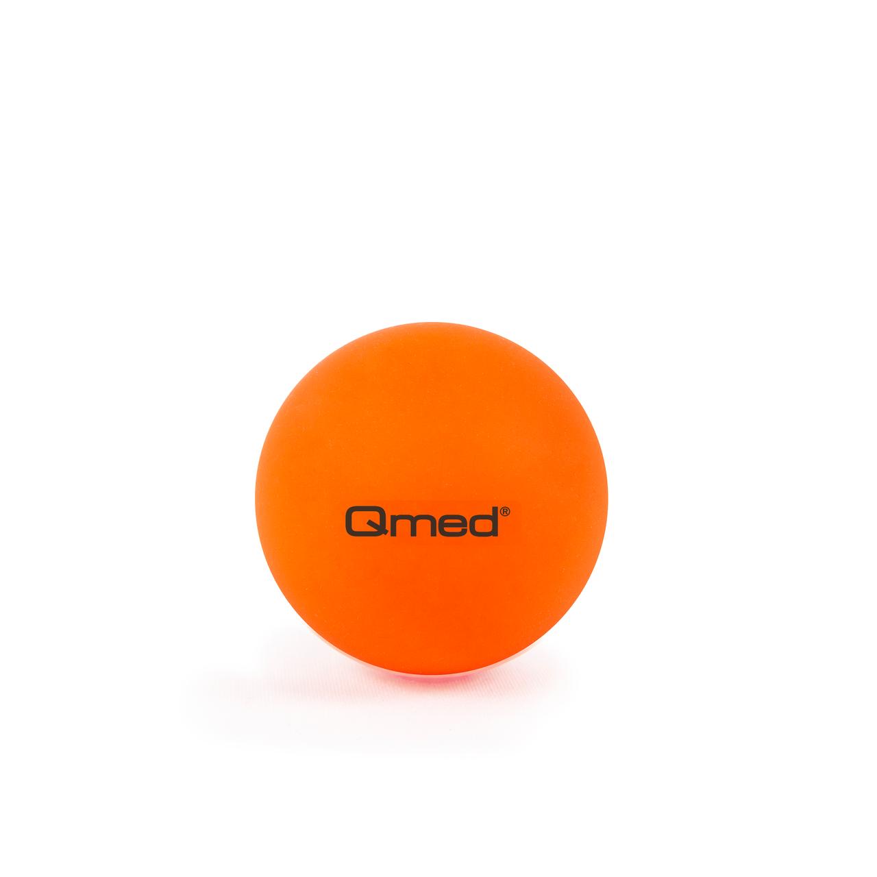 Масажний м'яч Qmed Lacrosse Ball, помаранчевий Ø 6 см