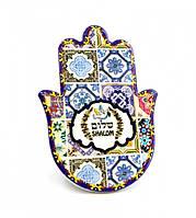 Хамса - рука Мириам керамическая настольная №11