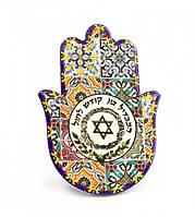 Хамса - рука Мириам керамическая настольная №7