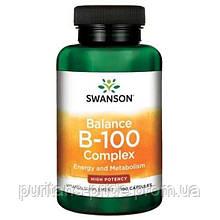 Комплекс В-100, Swanson B-100 Complex  100 capsules