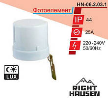 Фотоелемент RIGHT HAUSEN  25А HN-062021