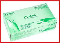 Перчатки латексные IGAR нестерильные припудренные L M размеры 100 шт в упаковке