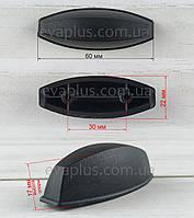 Опора для валізи ВП 129 чорна, фото 1