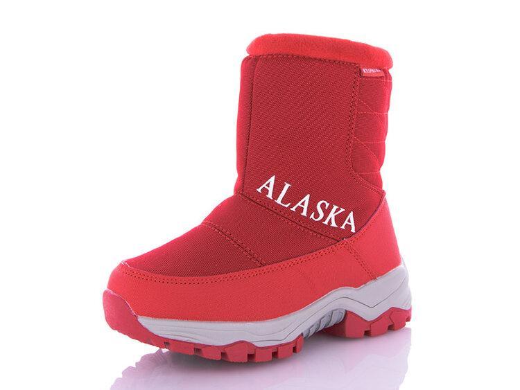 Детские зимние дутики Alaska оптом, 32-37 размер, 8 пар