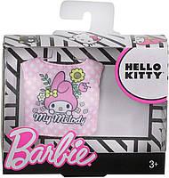 Одежда Барби с любимой блузкой Hello Kitty FXJ92, фото 3