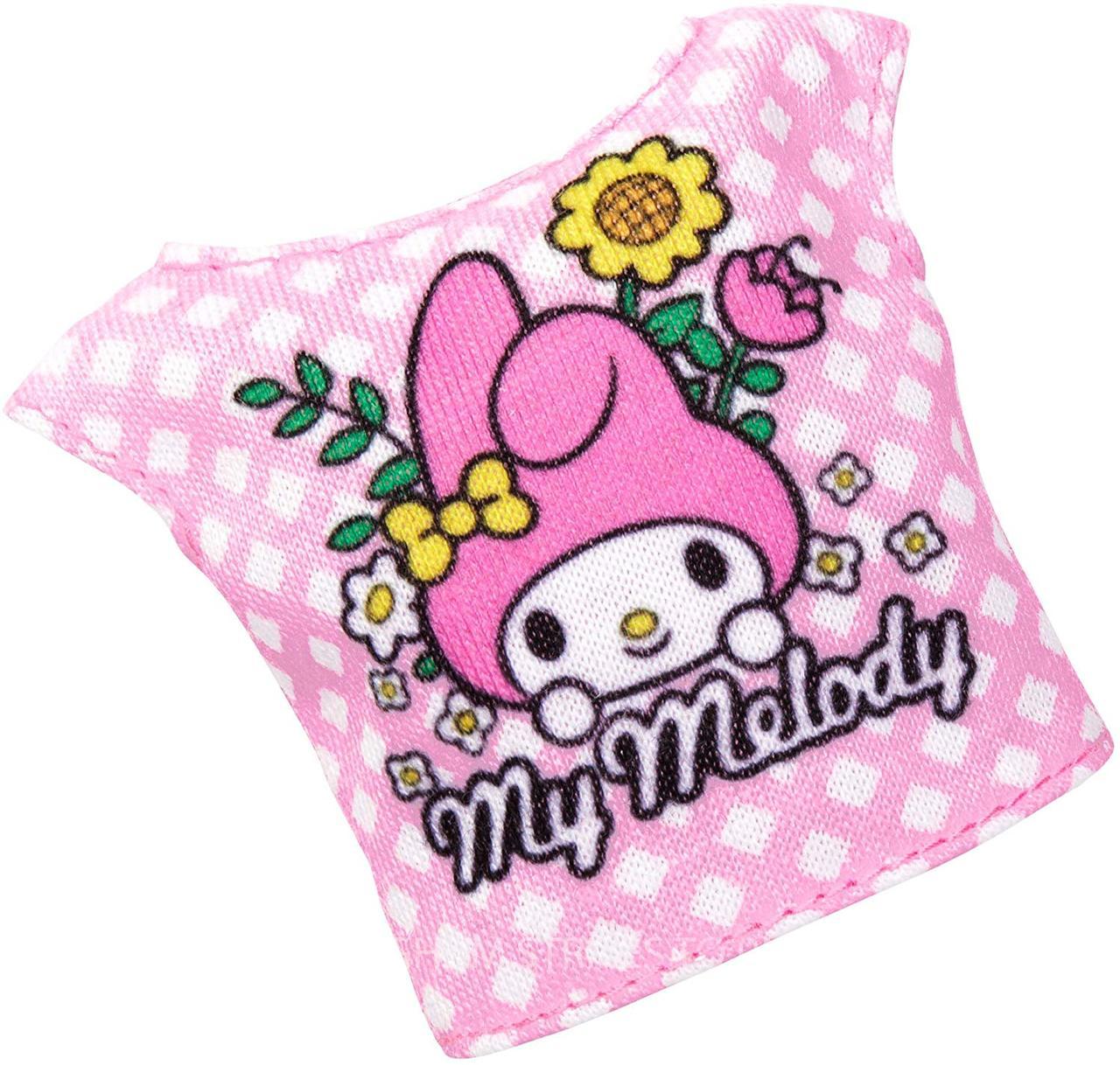 Одежда Барби с любимой блузкой Hello Kitty FXJ92