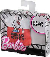 Одежда Барби с любимой блузкой Hello Kitty FXJ89, фото 2