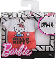 Одежда Барби с любимой блузкой Hello Kitty FXJ89, фото 3