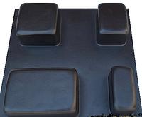 """Форма из АБС пластика для изготовления плитки """"Старый город"""" Размеры : 230 х 230 х 60 мм"""