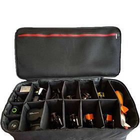 Сумка для 10 катушек LeRoy Reel Case 10 черная