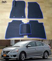 Килимки на Nissan Sentra '12-19. Автоковрики EVA, фото 1