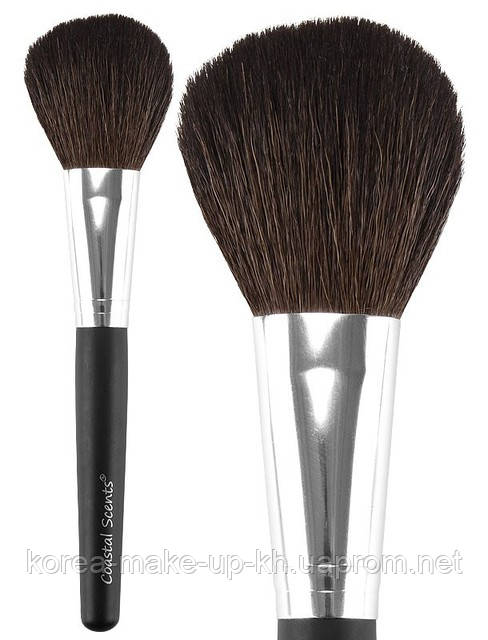 Кисть для пудры/румян Coastal Scents Classic Flat Powder Natural N44