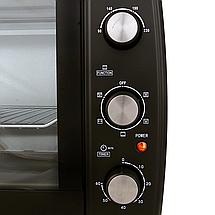 Электродуховка Camry CR 6017 объем 63 литра с конвекцией , грилем и подсветкой, фото 3