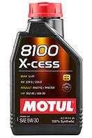Моторное масло Motul 8100 X-CESS 5W30, 1L